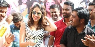 Lavanya Tripathi Birthday Pictures With Fans