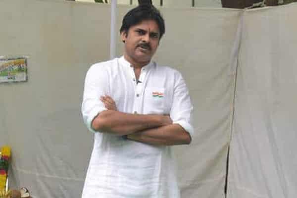 Pawan inaugurated party office at Seethammadhara