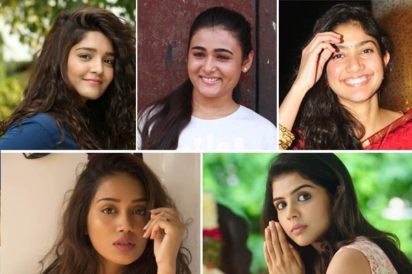 Telugu heroines new Telugu Actors