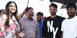 Tej joins the sets of his Next