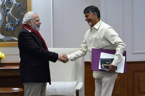 AP CM Nara Chandrababu Naidu plays hardball with Narendra Modi
