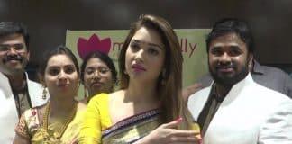 Cheppal thrown on actress Tamannaah