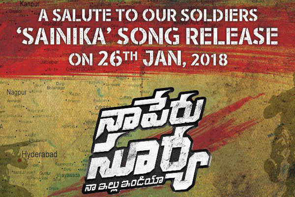 'Naa Peru Surya' tribute to soldiers on Republic Day