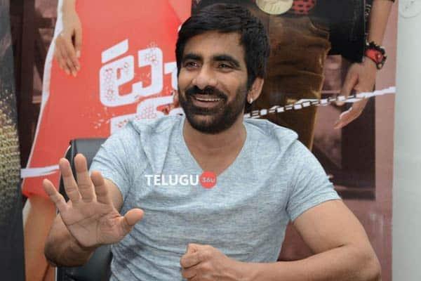 Ravi Teja Interview Stills
