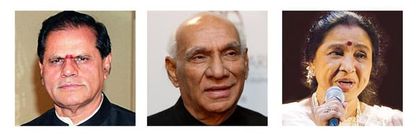 Yash Chopra National Memorial Award For Asha Bhosle