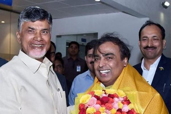 Andhra signs Mous worth Rs 1.75 lakh cr, RIL to invest Rs 55,000 cr