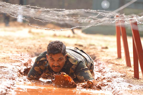 Bunny and team braving inclement weather for Naa Peru Surya