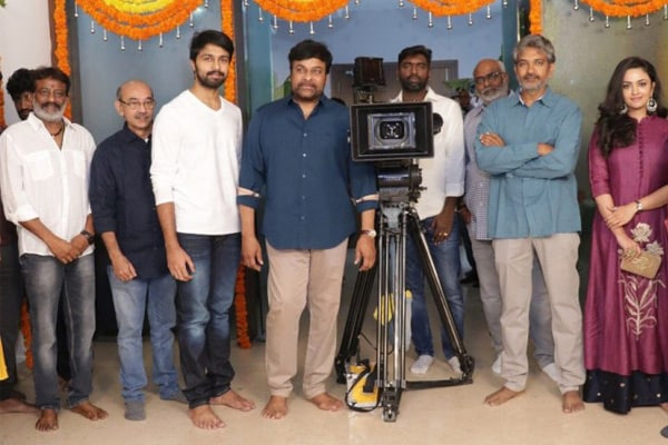 Chiranjeevi Son In Law Kalyaan Dhev's Debut Film Shoot Begins