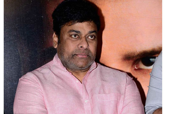 Chiru upset with Mega heroes