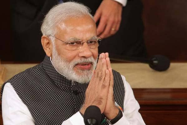 Modi seeks Telangana people's blessings for BJP