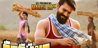 """Rangasthalam Overseas Release by Creative Cinemas NY on Mar 29"""