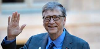 Microsoft founder Bill Gates on small screen