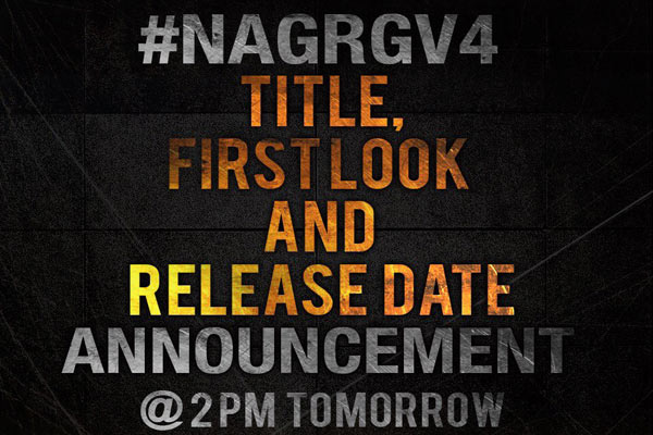 Nag – RGV flick nears completion, first look soon