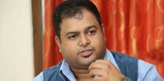 Thaman sandwiched between three films Inttelligent Tholi Prema Gayatri
