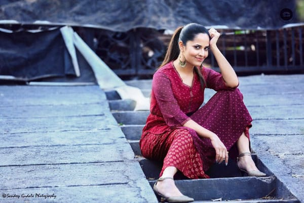 Anasuya signed up for another 'Mega' film