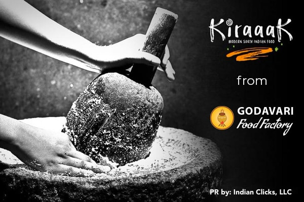 "Godavari rolling out their new brand - ""KIRAAAK"""