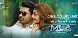 Kalyan Ram MLA first single 'Most Wanted Abbayi' song release today