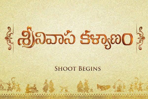 Srinivasa Kalyanam goes on floors