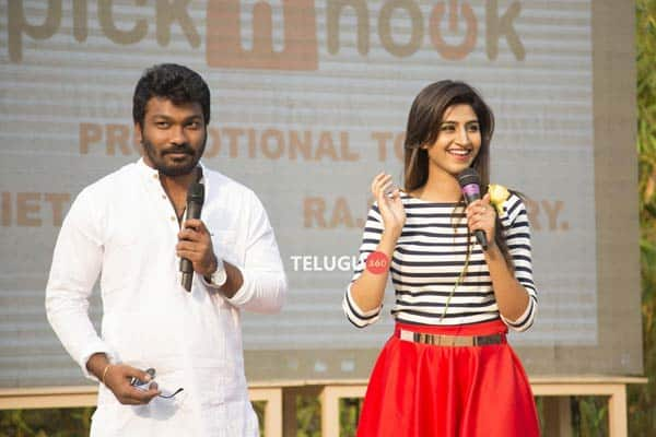 Varshini Stills As Host At Pick N Hook Event