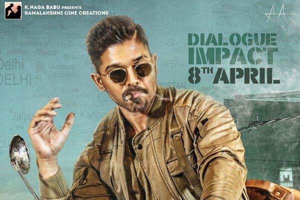 Allu Arjun ready with Dialogue Impact
