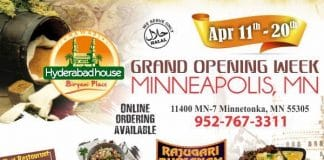 """Minneapolis - Nawabi HYDERABAD HOUSE Grand Opening"""