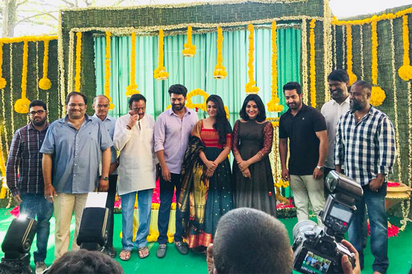 NTR launches Kalyan Ram and K.V. Guhan new film