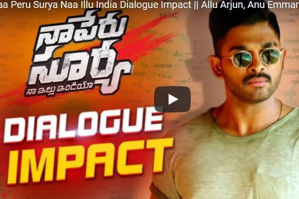 NPS dialogue impact : Allu Arjun's intense warning