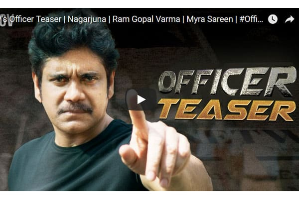 Officer teaser : Intense and Action packed