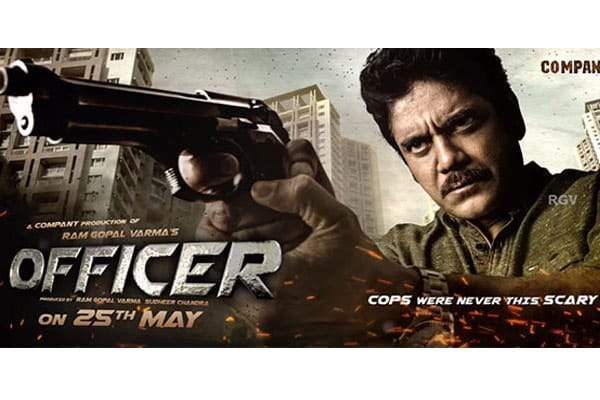 'Officer' is very intense says RGV