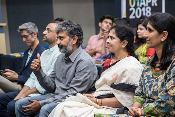 Pics : Rajamouli at International Film Fest in Pakistan