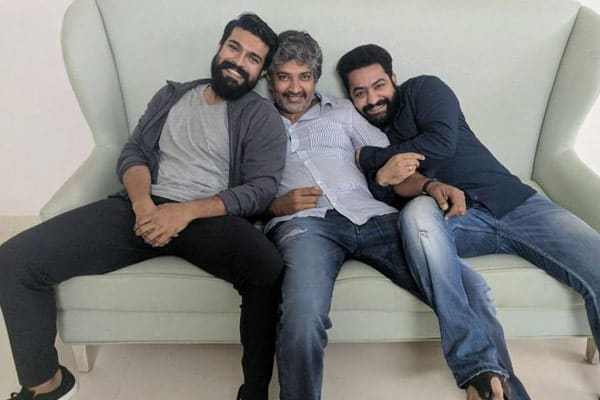 """Inside info : How Rajamouli """"trapped"""" NTR and Charan"""