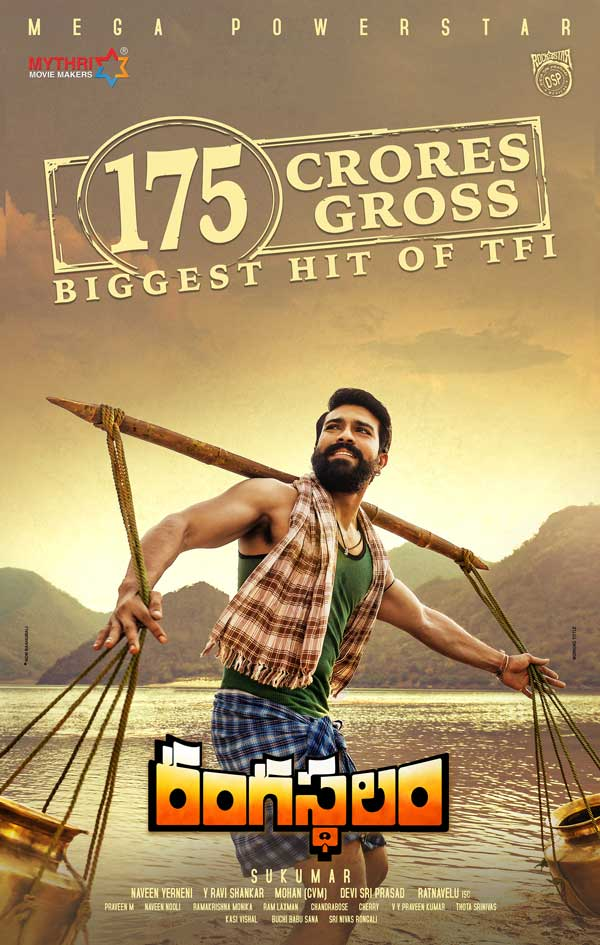 Rangasthalam Full page ad — Is it fair to Baahubali ?