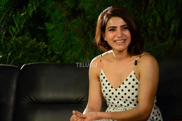 Samantha responds about liplock in Rangasthalam