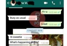 Sri Leaks Part 2 : Popular Comedy script Writer chat