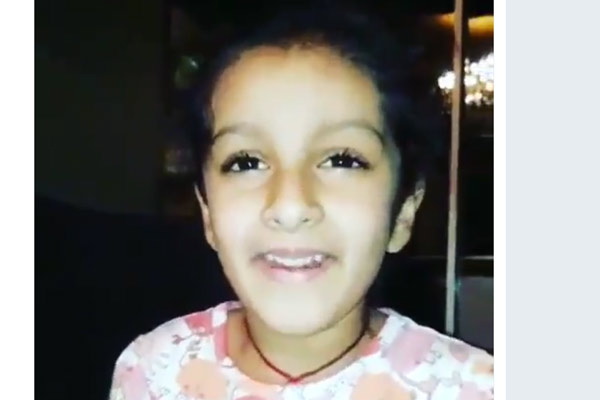 This Video of Sitara Singing BAN Song is Incredibly Cute!