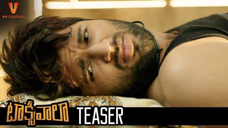 Vijay Devarakonda's Taxiwaala Teaser: Concept based Thriller