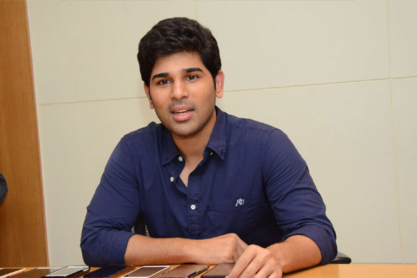 Allu Sirish: Lockdown reignited my interest in Yoga