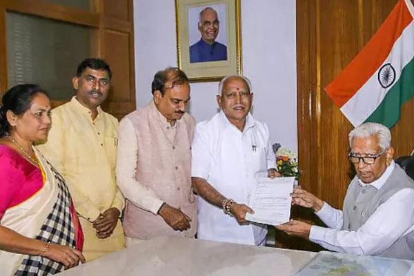 Karnataka Governor invites BJP's Yeddyurappa to form government