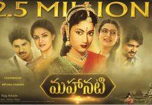 Mahanati hits $ 2.5 M mark in overseas
