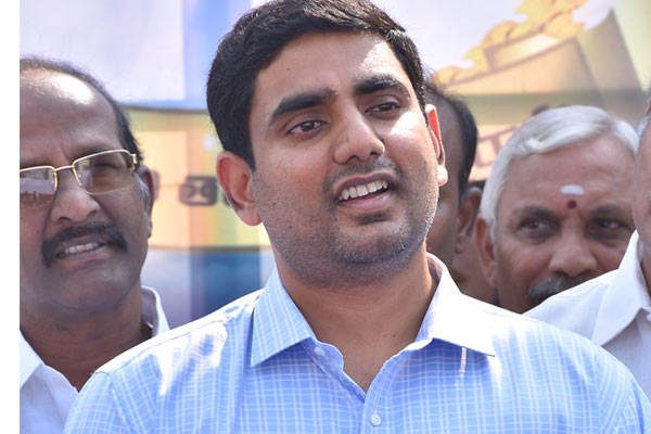 Doubts on YS family's Chennai suitcase companies: Lokesh