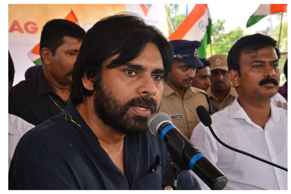 Pawan Kalyan Steps up anti against Chandrababu in Srikalahasti Tour