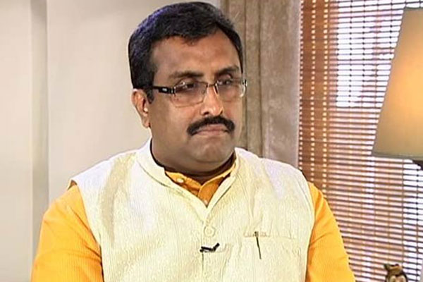 Large state like UP has one capital, why 3 capitals for AP: Ram Madhav
