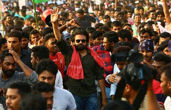 TV channels full coverage for Pawan's meeting