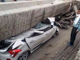 12 killed in Varanasi flyover collapse, over 50 trapped