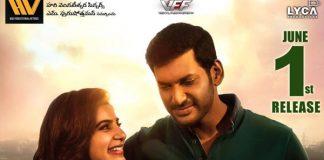 Abhimanyudu release on June 1st