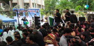 YSRCP leaders' walkout from Jagan's 'Padayatra'