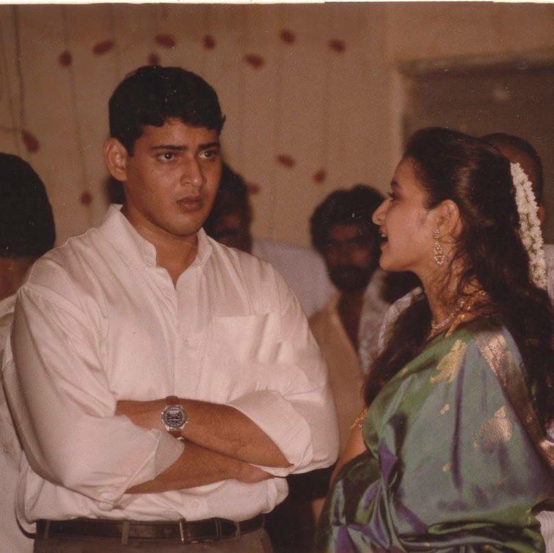 Vintage pic - 'Yuva Raju' Mahesh Babu