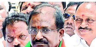 Somu Veerraju shocked , turmoil in BJP