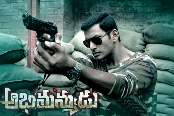 Abhimanyudu 1st weekend Collections
