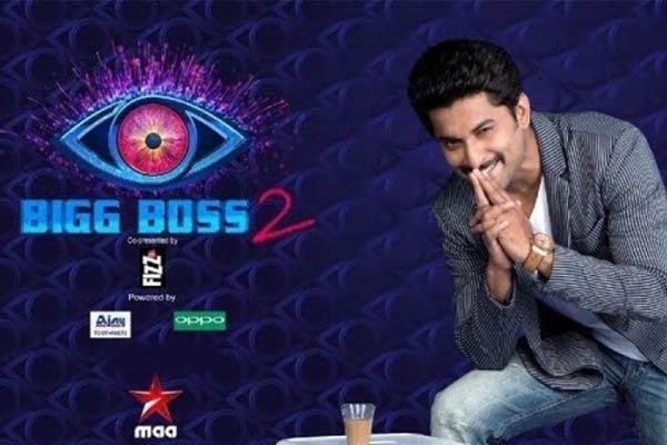 Big Boss 2 Telugu contestants list
